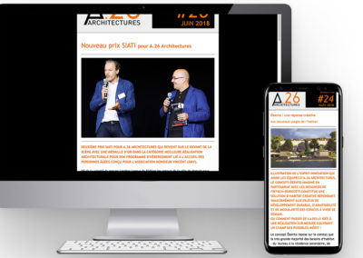 A.26 ARCHITECTURES | Newsletter externe