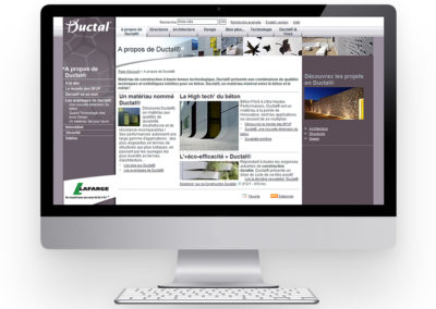 LAFARGE | Site Internet innovation