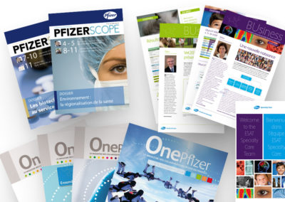 PFIZER | Communication interne